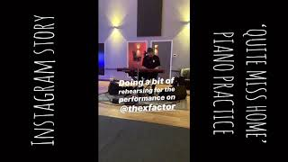 James Arthur   Quite Miss Home (Piano Rehearsals For X Factor)