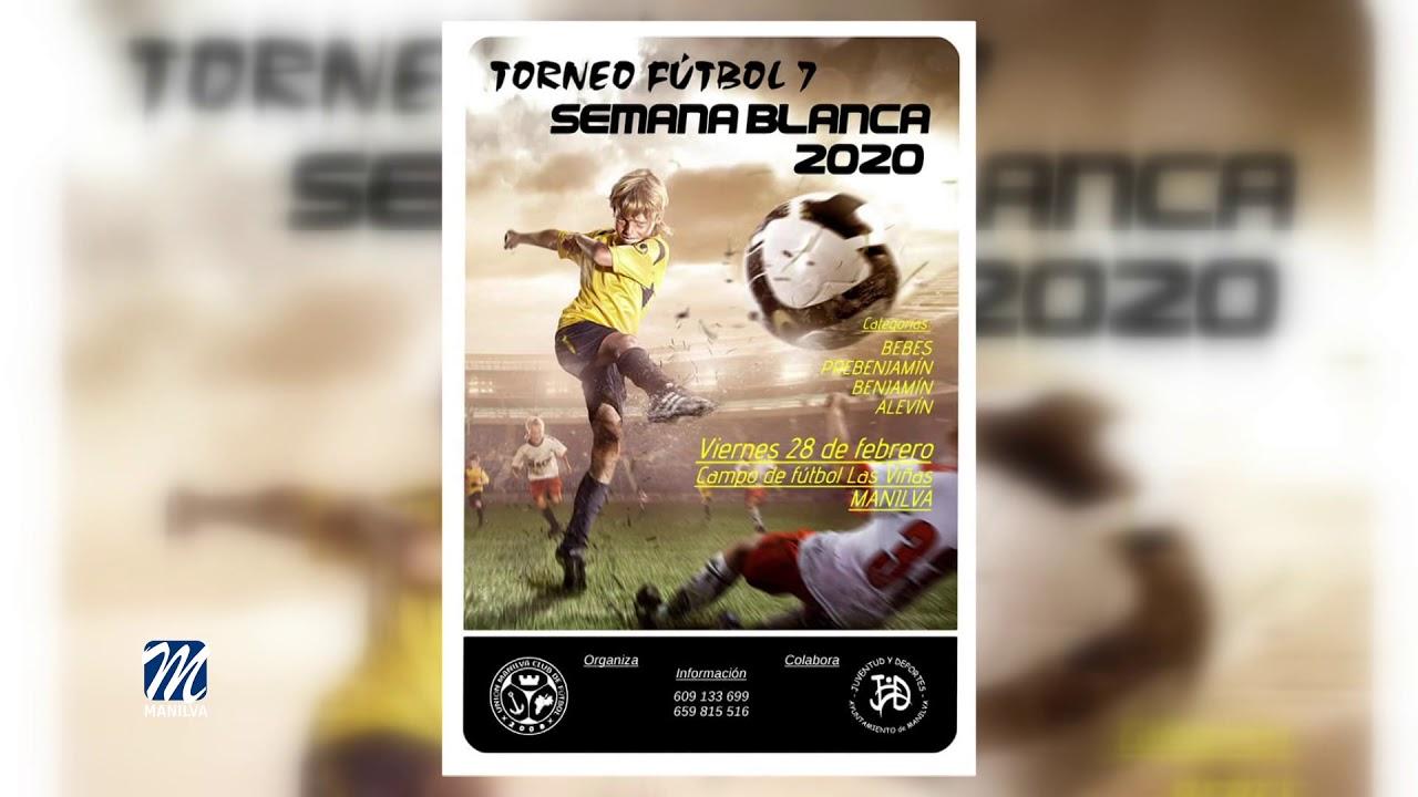 Torneo de fútbol 7 semana blanca 2020