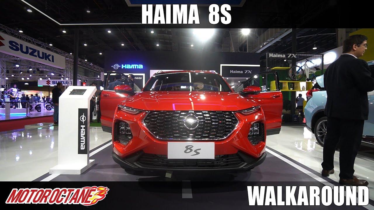 Motoroctane Youtube Video - Haima 8S - Creta Competition | Auto Expo 2020 | Hindi | Motoroctane