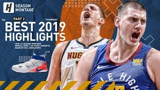 Nikola Jokic BEST Highlights & Moments from 2018-19 NBA Season! Triple-Double Machine!