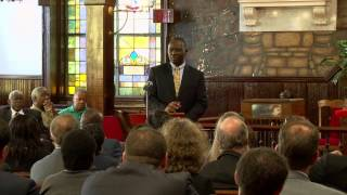 Civil Rights Ride 2013 – Clementa C. Pinckney, SC Senate, Pastor Mother Emanuel A.M.E.