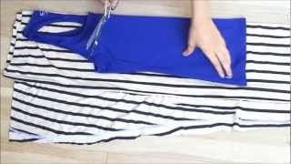 Fashion Diy How To Make Racerback Long Maxi Dress