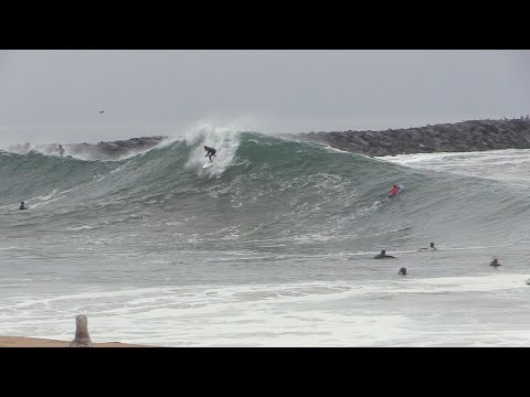 The Wedge - BIGGEST Day of 2019 (RAW FOOTAGE)