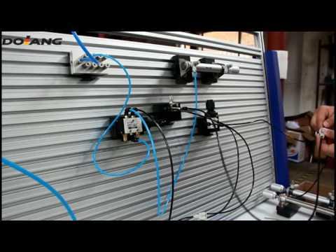 DLQD-DP101 Basic Pneumatic Training Equipment demo - YouTube
