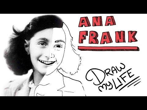 Video: La Biografía En Dibujos De Ana Frank