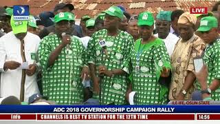 ADC Rallies Support For Akinbade Ahead Of Osun Guber Polls Pt.4 |Live Event|