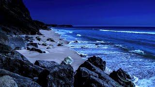 Sleep On A Beautiful Beach Tonight - Ocean Sounds of Waves For Deep Sleeping on Praia de Blimunda