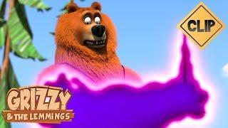 Quand Grizzy se prend pour Harry Potter - Grizzy & les Lemmings