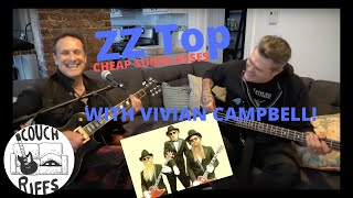 COUCH RIFFS: Vivian Campbell performs Cheap Sunglasses by ZZ Top
