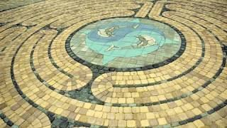 Walking the Labyrinth at Edgar Cayces A.R.E. in Virginia Beach, VA