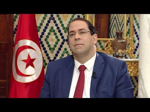 العرب اليوم - شاهد: حزب نداء تونس يعلق عضوية رئيس الحكومة يوسف الشاهد