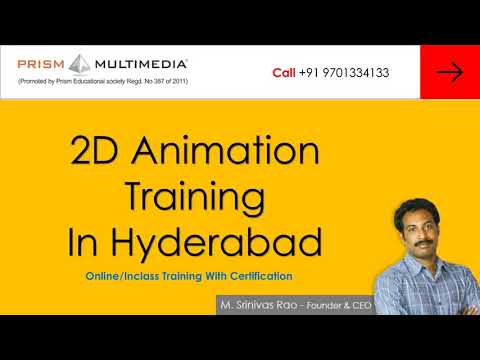 2D Animation Course Online Training in Hyderabad - Prism ...