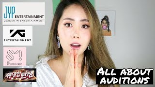 I Auditioned For SM, YG, JYP (and tips!)  오디션 스토리타임!