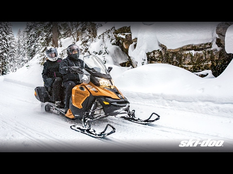 2018 Ski-Doo Grand Touring SE 1200 4-TEC ES Ripsaw 1.25 STIS in Sauk Rapids, Minnesota - Video 1