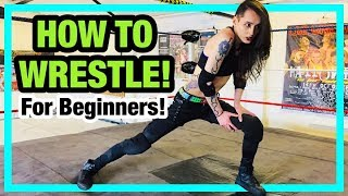 HOW TO WRESTLE FOR BEGINNERS! | Pro Wrestling Training Vlog!