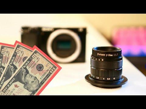 World's Cheapest 35mm E-Mount Lens