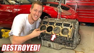 Taking Apart the Auction Corvette