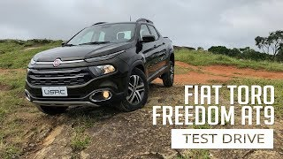 Fiat Toro Freedom AT9 - Test Drive