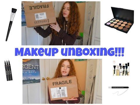 MAKEUP UNBOXING!!! Sephora + Amazon