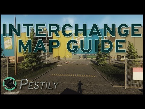Interchange Map Guide - New Players Guide - Escape from