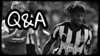 Rolando Aarons does a Q&A on Instagram