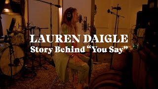 Gambar cover Lauren Daigle - The Story Behind