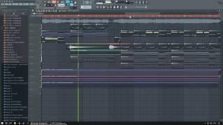 [FL Studio 12] Salvatore Ganacci feat. Enya and Alex Aris - Dive (Cover)