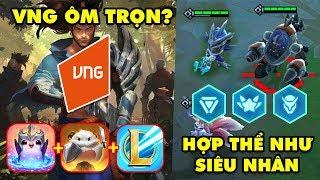 Update LMHT: ĐTCL mùa 3 hợp thể như siêu nhân Gao – VNG là đối tác phát hành game của Riot tại VN
