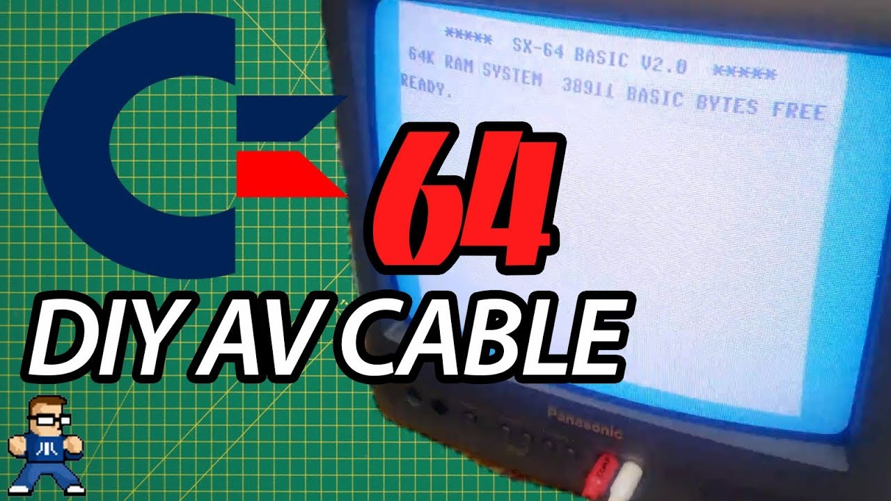 How To DIY Commodore 64 AV Cable
