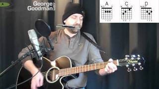 JJ Cale Eric Clapton After Midnight Guitar Lesson Plus Harmonica By George Goodman