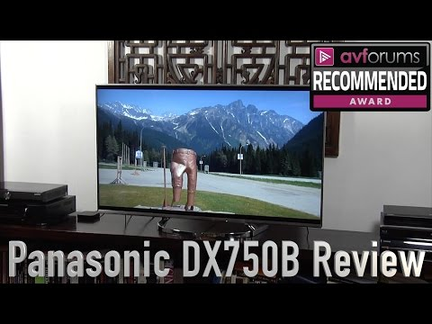 Panasonic TX 50DX750B 4K HDR TV Review