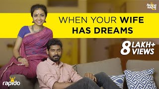 When your Wife has Dreams | FT Debnita | Awesome Machi | Rapido | English Subtitles