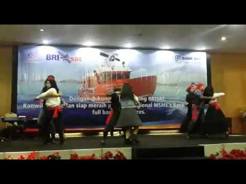 Dance Fpk E-Banking kanwil Bri Medan 2016