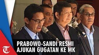 Prabowo-Sandi Ajukan Gugatan Pemilu ke MK, Sandiaga: Bentuk Kecintaan kepada Rakyat Indonesia