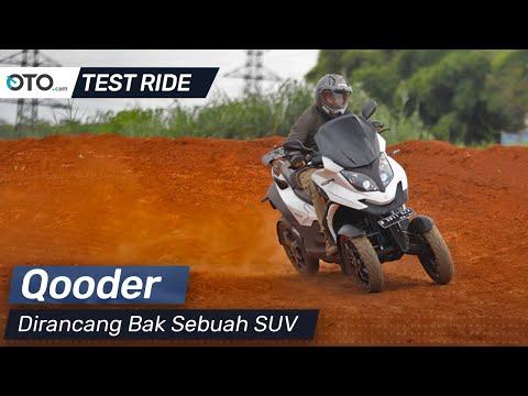 Qooder | Test Ride | Dirancang Bak Sebuah SUV | OTO.Com