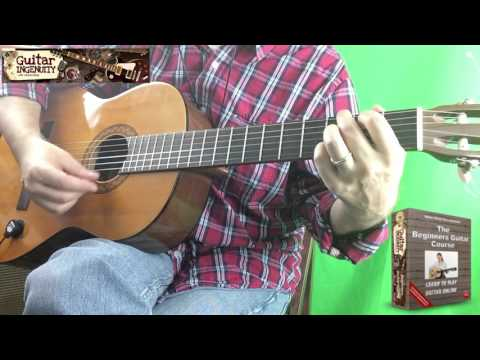 How To Play O' Come All Ye Faithful On Guitar - Come All You Faithful Guitar Chords