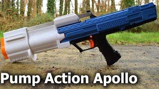 Review: Nerf Apollo Pump-Action Kit