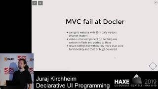 Declarative UI Programming - Juraj Kirchheim