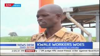 Over 2000 workers apprehensive as Kwale sugar company shuts down