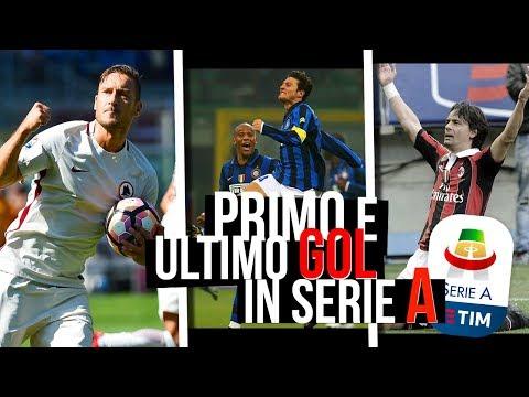 Il Primo e l'Ultimo Gol in Serie A di Calciatori Importanti #1