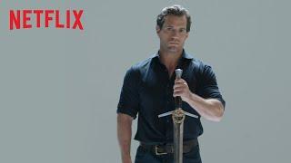 Henry Cavill Explica Todo Sobre Las Espadas Del Brujo   The Witcher   Netflix