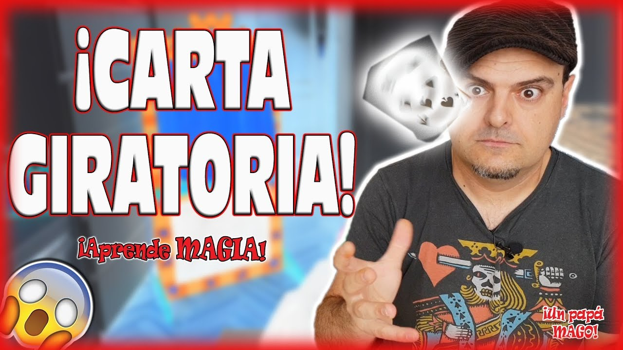 TRUCO DE MAGIA CARTA GIRATORIA | APRENDE MAGIA | Is Family Friendly