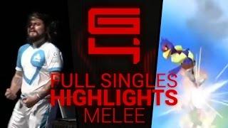 Genesis 4 - Ultimate Melee Singles Highlights - By Remzi H.