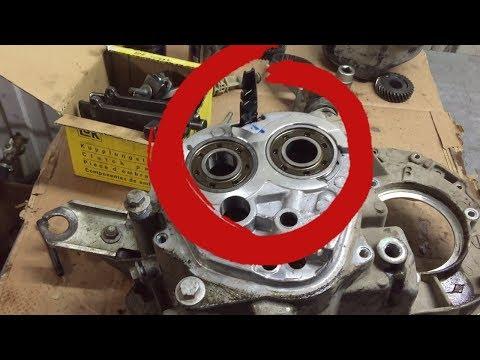 Фото к видео: Сильный шум из коробки Рено (JH3). Подшипники в хлам. Из-за чего?