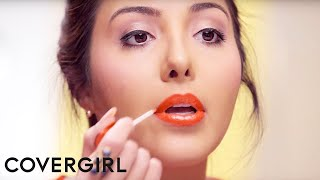 Contouring Makeup Tutorial & Ombre Red Lips by Giselle Ugarte | COVERGIRL