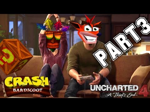 TOTO STE NEČAKALI ! - Uncharted 4: A Thief's End CZ | PART 3