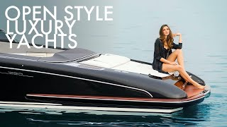 Top 5 Small Open Style Luxury Yachts by Riva Yachts | Price & Features