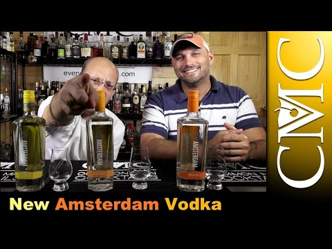 New Amsterdam Vodka: Peach, Orange and Citrus Review