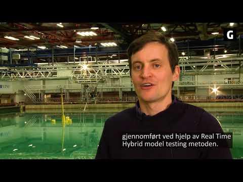 – Vi tror at det å masseprodusere flytende vindkraft er mye enklere enn bunnfaste, fordi de bunnfaste må spesialdesignes for både grunnforhold og vanndyp, sier Olav Weider, adm.dir i Dr.techn. Olav Olsen. Foto: SINTEF