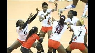 African Queens Malkia Strikers warm up in style